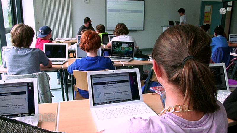Aus für digitale Schulen in NRW? (Foto: SAT.1 NRW)