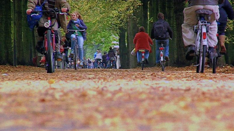 Münster ist nicht mehr Fahrrad-Hauptstadt (Foto: SAT.1 NRW)