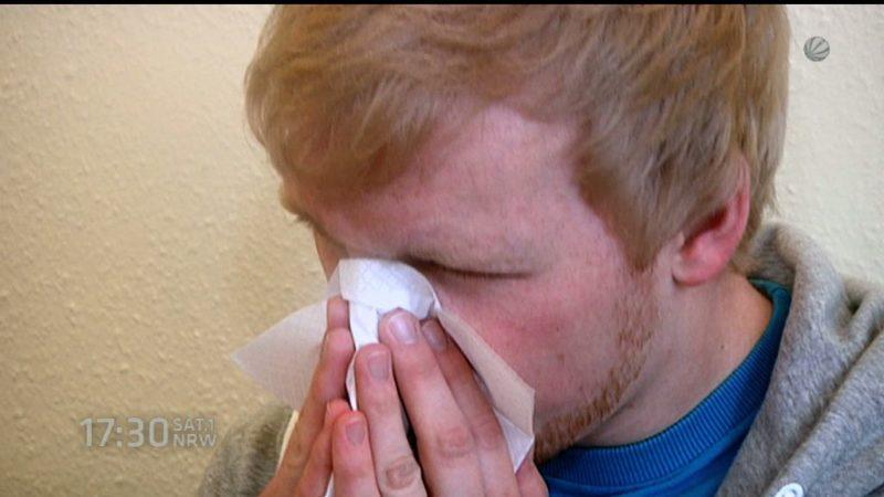 Grippewelle in NRW (Foto: SAT.1 NRW)