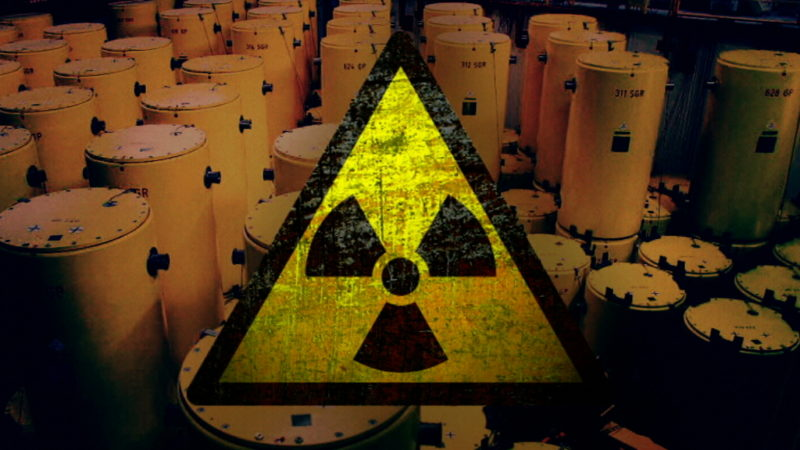 Wohin mit dem Atom-Müll? (Foto: SAT.1 NRW)