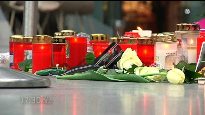 Gedenken an Germanwings-Katastrophe (Foto: SAT.1 NRW)