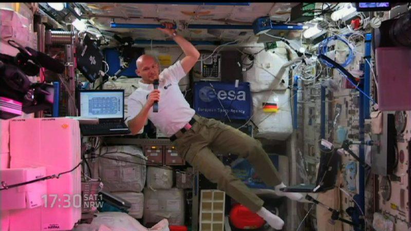 Einmal ins All funken - Schüler chatten mit Astronaut (Foto: SAT.1 NRW)