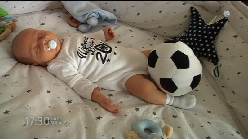 Diese App lässt Babys schlafen (Foto: SAT.1 NRW)