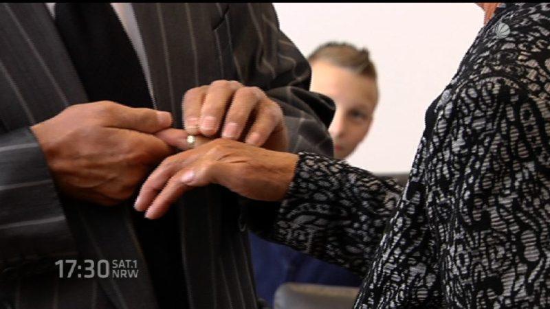Frau befreit sich aus Zwangsheirat (Foto: SAT.1 NRW)