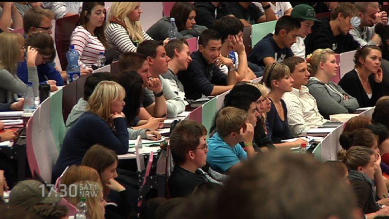 Mehr Studenten als jemals zuvor (Foto: SAT.1 NRW)