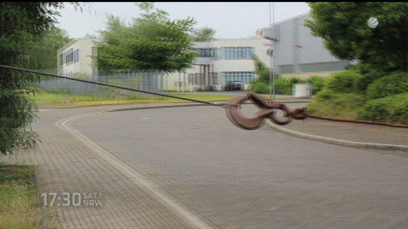 Radfahrer-Falle in Ratingen (Foto: SAT.1 NRW)