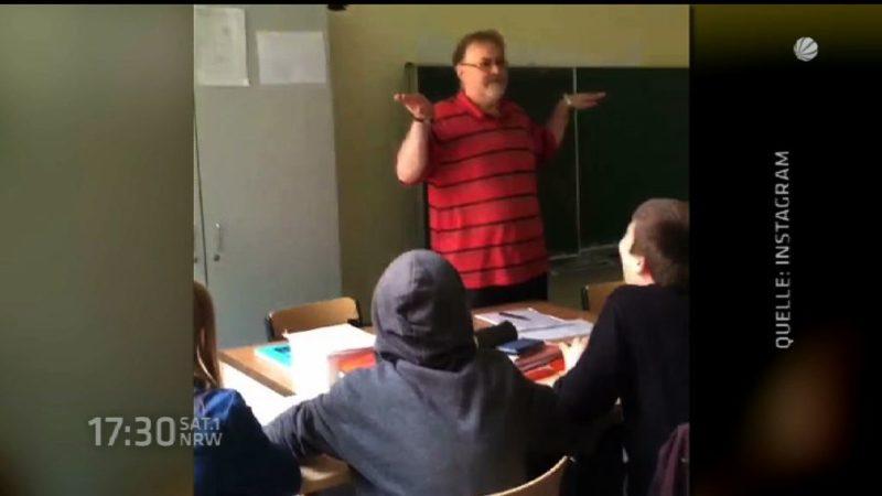 Mathelehrer wird zum Instagram-Star (Foto: SAT.1 NRW)