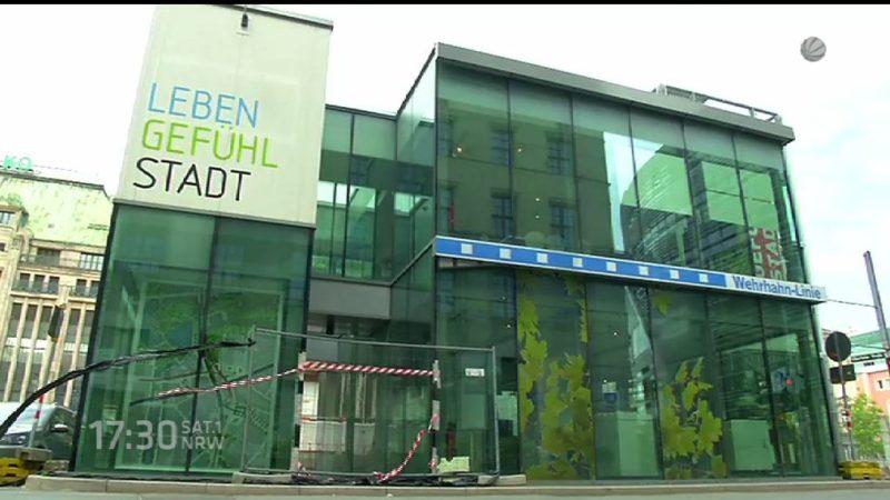 Kö-Pavillon zum Schnäppchenpreis (Foto: SAT.1 NRW)