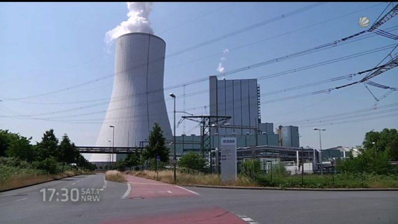 Panne um Kraftwerkszahlen (Foto: SAT.1 NRW)