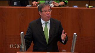 Hitzige Debatte im Landtag (Foto: SAT.1 NRW)