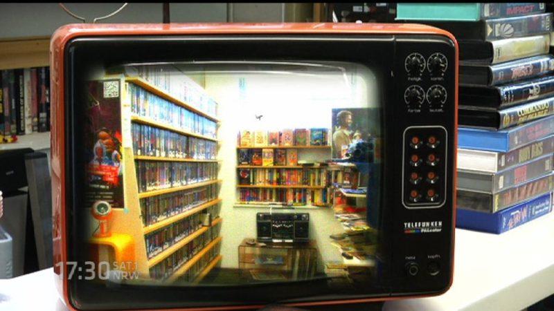 Retro-Videothek (Foto: SAT.1 NRW)