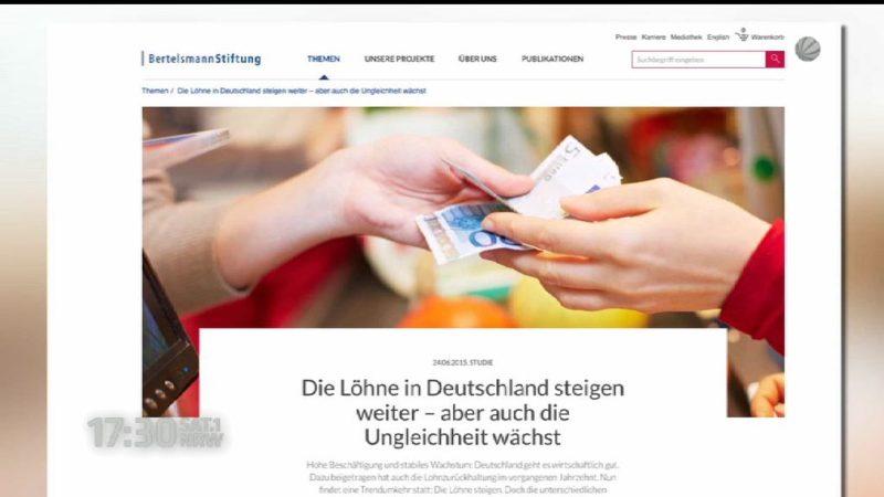 Arme werden Ärmer - Reiche werden reicher (Foto: SAT.1 NRW)