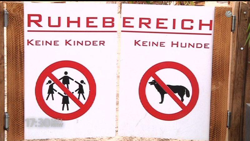 Gastronom sagt: Kinder müssen draußen bleiben (Foto: SAT.1 NRW)