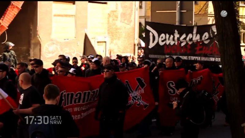 Mehr Extremisten in NRW (Foto: SAT.1 NRW)