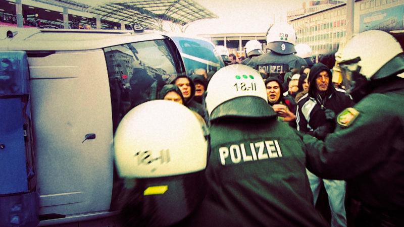 Mehr Gewalt gegen NRW-Polizei (Foto: SAT.1 NRW)