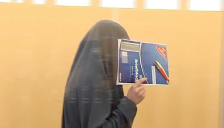 Islamistin geht gegen Urteil vor (Foto: SAT.1 NRW)
