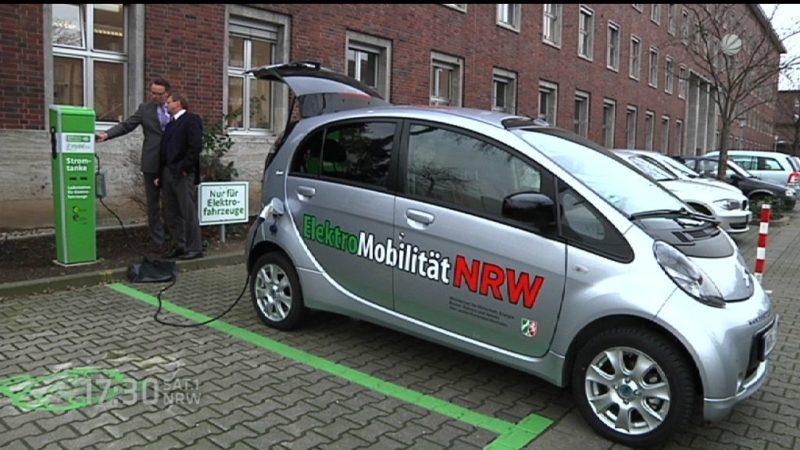 Zu wenig Stromtankstellen in Deutschland (Foto: SAT.1 NRW)