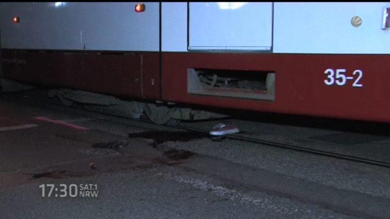 Dortmunder stirbt nach Horrorunfall mit Straßenbahn (Foto: SAT.1 NRW)