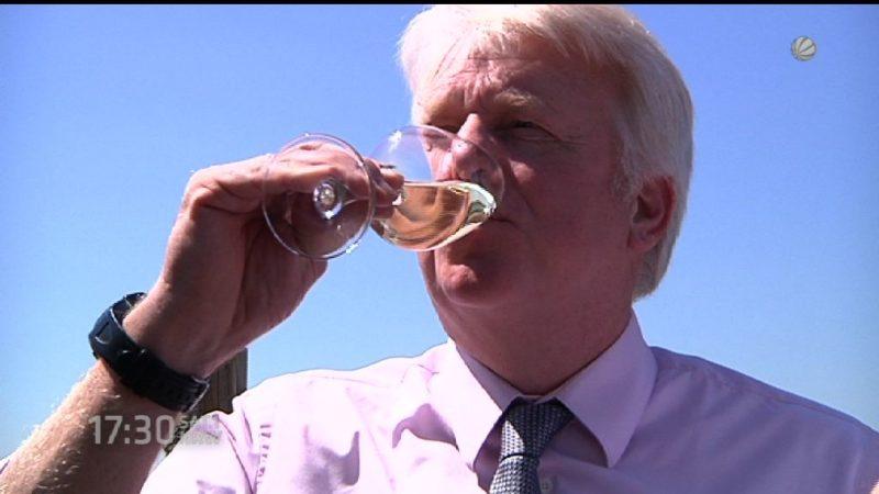 Erster Wein am Emschertal in Dortmund geerntet (Foto: SAT.1 NRW)
