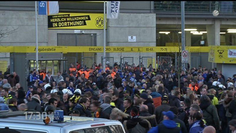 Innenminister fordern weniger Gästefans bei Fußballspielen (Foto: SAT.1 NRW)