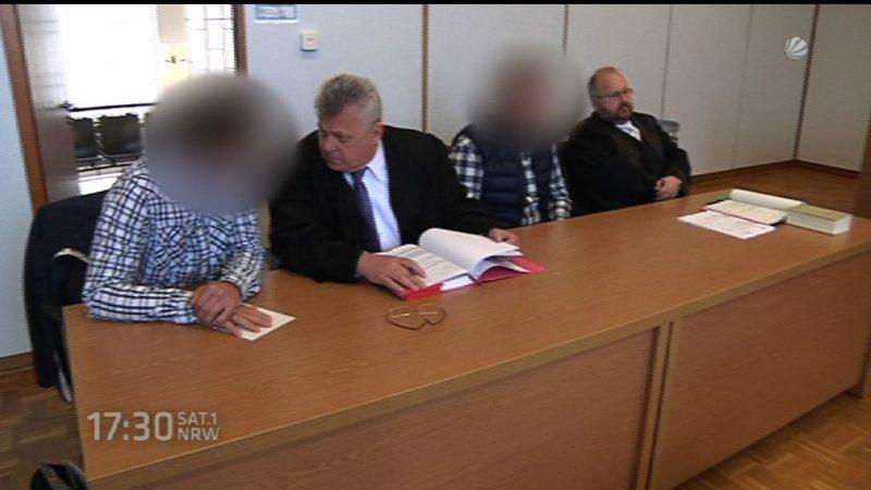 Prozess gegen Polizisten unterbrochen (Foto: SAT.1 NRW)