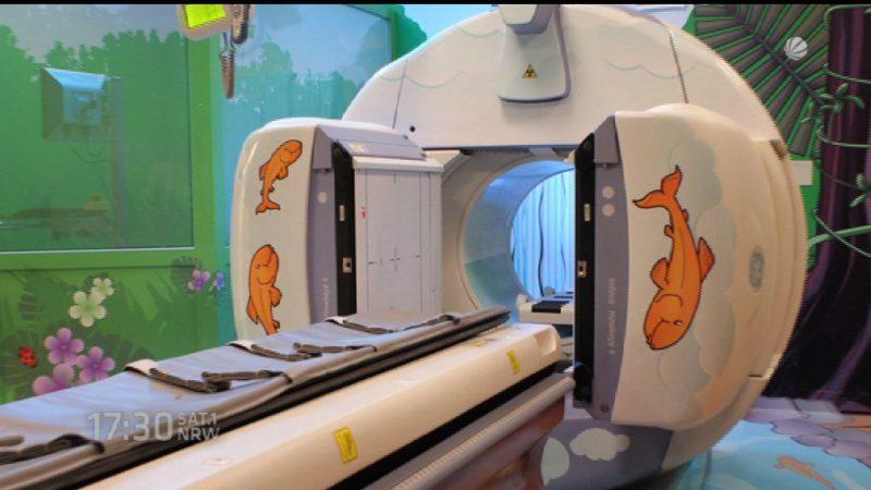 "Klinikum Dortmund bekommt ""Kinder-MRT"" (Foto: SAT.1 NRW)"