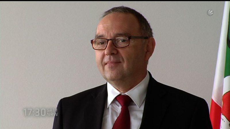 Kandidat auf SPD-Vorsitz stell sich unseren Fragen (Foto: SAT.1 NRW)
