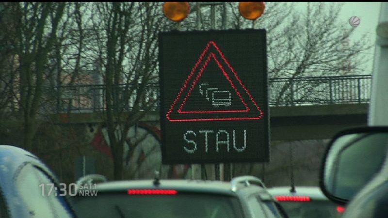 Letzte Infos vor A40 Sperrung (Foto: SAT.1 NRW)