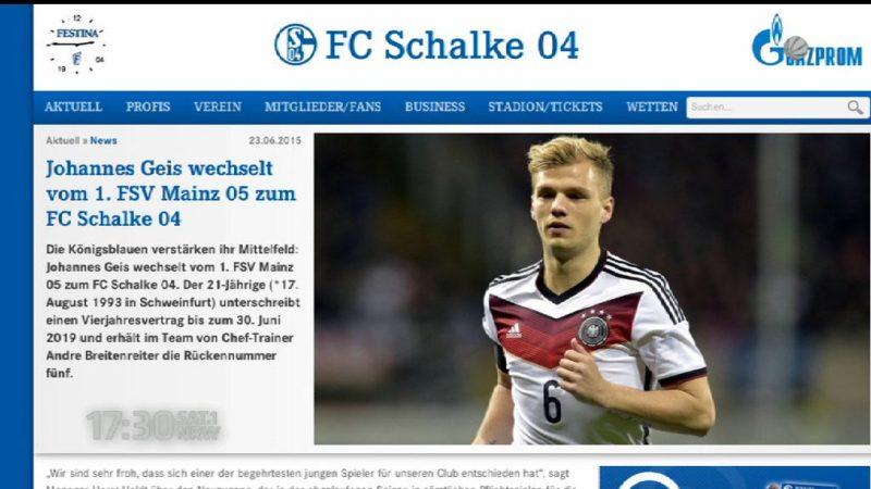 Schalke verpflichtet Johannes Geis (Foto: SAT.1 NRW)