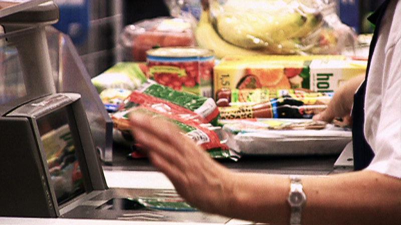 Bananenspinne im Supermarkt (Foto: SAT.1 NRW)