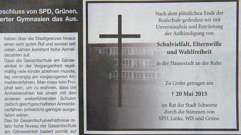 Schulkrieg in Schwerte (Foto: SAT.1 NRW)