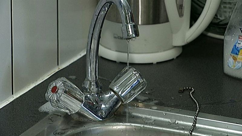 Mieter ohne Wasser (Foto: SAT.1 NRW)