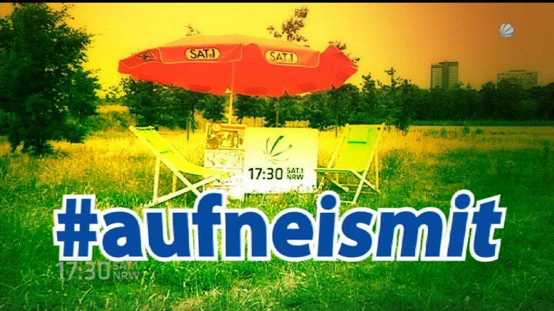 #aufneismit Wissenschaftsministerin Svenja Schulze (Foto: SAT.1 NRW)