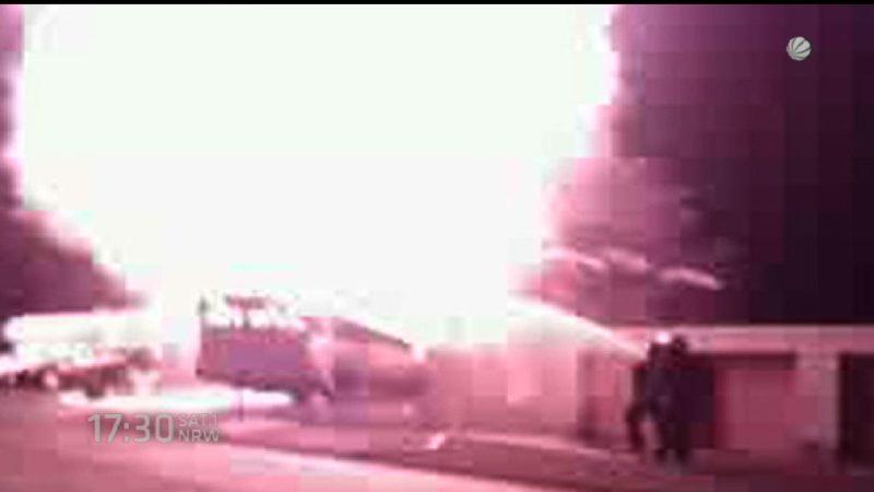 Brandstifter vor Gericht (Foto: SAT.1 NRW)