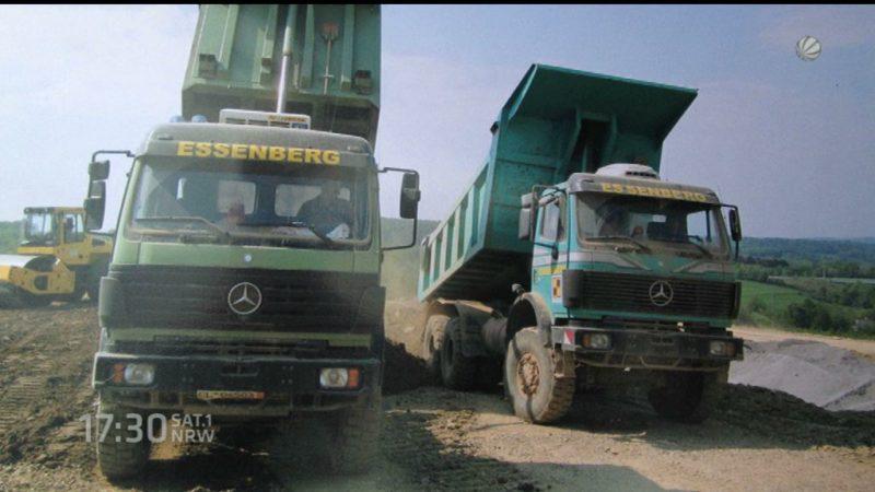 Gestohlene Lastwagen per Ebay-Anzeige gesucht (Foto: SAT.1 NRW)