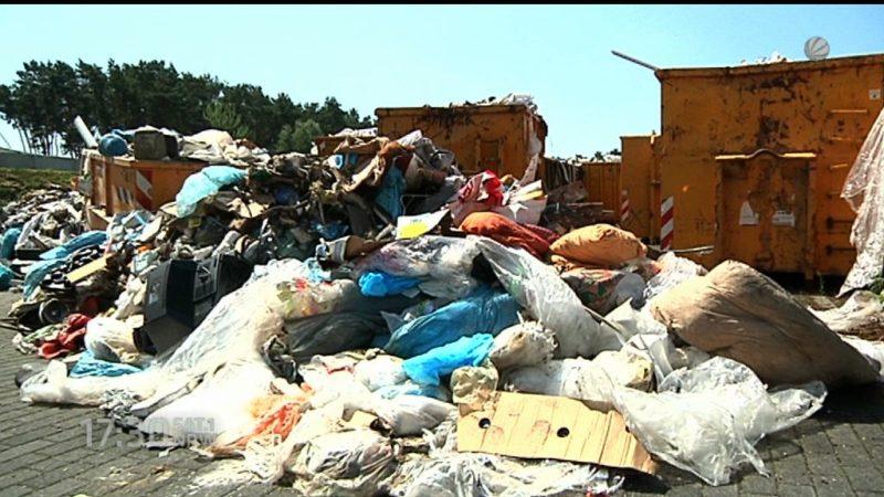 Müllskandal in Marl (Foto: SAT.1 NRW)