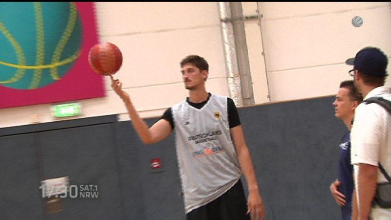 Neuer NBA-Star aus dem Rheinland (Foto: SAT.1 NRW)