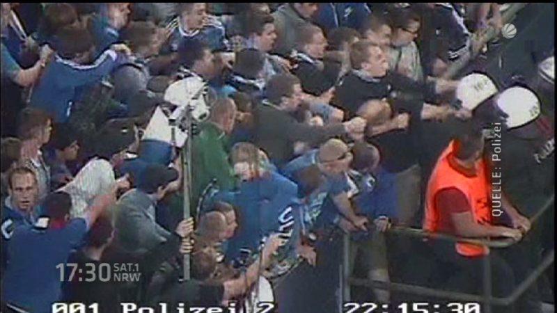 Innenminister beschwert sich bei Schalke 04 (Foto: SAT.1 NRW)