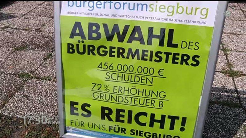 Putschversuch in Siegburg (Foto: SAT.1 NRW)