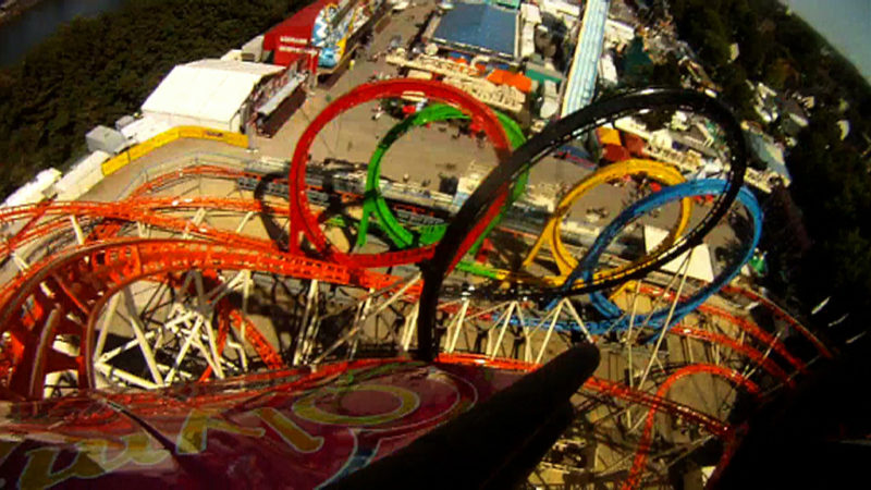 XXL-Kettenkarussell auf Cranger-Kirmes (Foto: SAT.1 NRW)