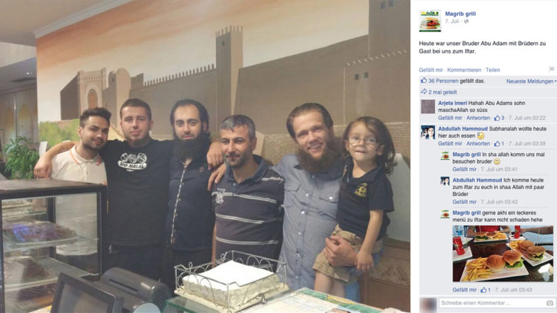 Imbiss als neuer Salafisten-Treff? (Foto: SAT.1 NRW)
