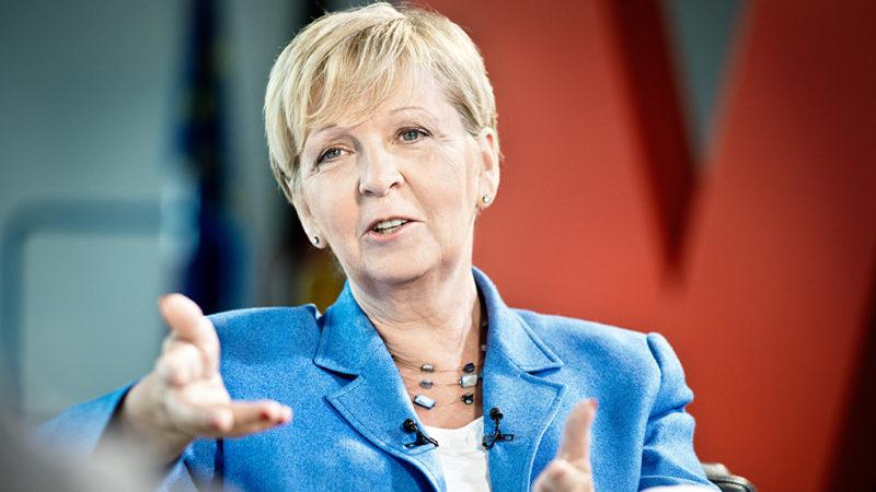 Hannelore Kraft - Bild im Landtag (Foto: SAT.1 NRW)