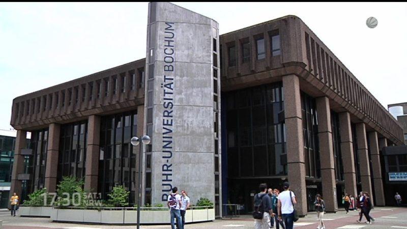 Flüchtlinge als Gasthörer in Ruhr-Universität (Foto: SAT.1 NRW)