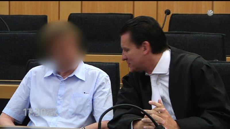Prozess wegen versuchten Mordes mit Gasflasche (Foto: SAT.1 NRW)