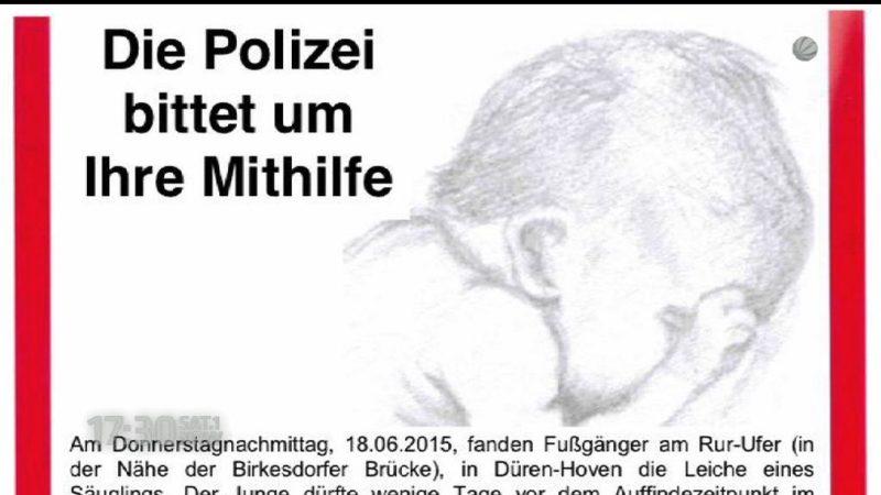 Polizei Düren sucht Mutter und veröffentlicht Fotos (Foto: SAT.1 NRW)