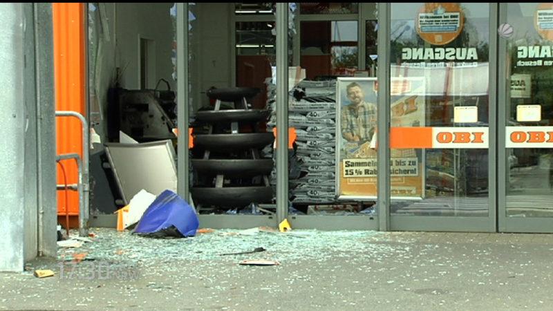 Nach Geldautomatensprengung zwei Verdächte gefasst (Foto: SAT.1 NRW)