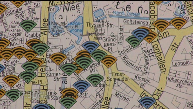 Düsseldorf geht online (Foto: SAT.1 NRW)