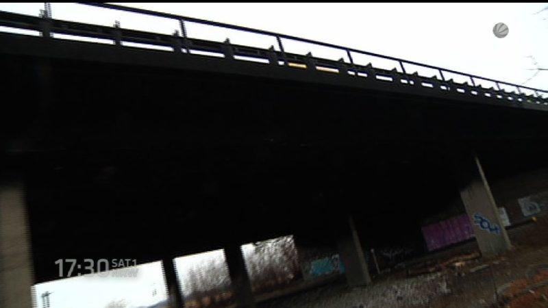Brückenbau auf der A57 verzögert sich (Foto: SAT.1 NRW)