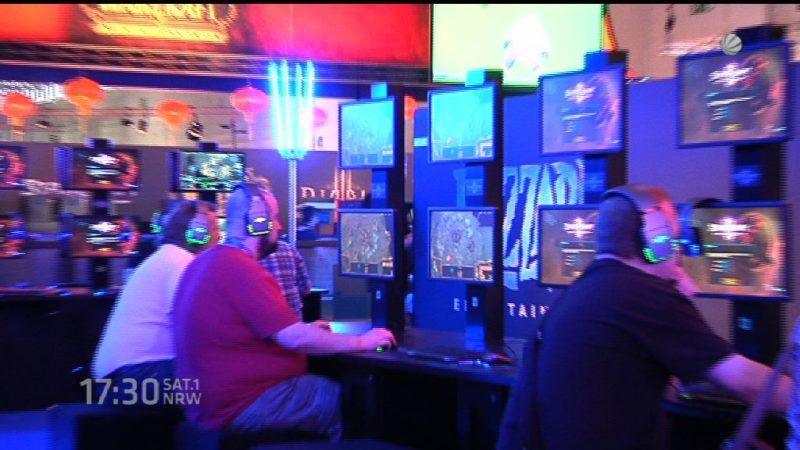 Gamescom 2016 (Foto: SAT.1 NRW)