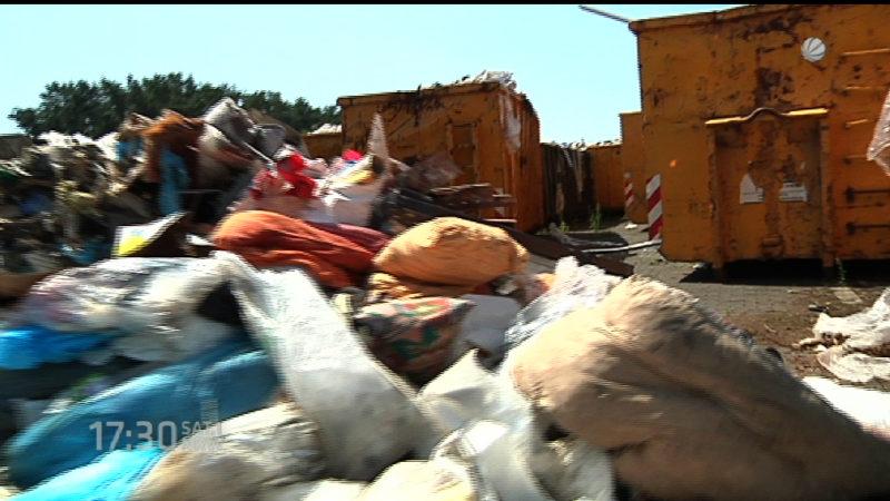 Kreis RE muss illegal entsorgten Müll wegschaffen (Foto: SAT.1 NRW)